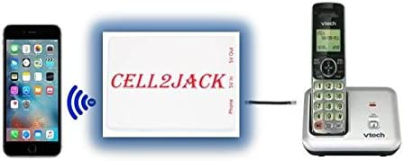 Amazon Com Cell2jack Cellphone To Home Phone Adapter Avoid Harmful Cell Signal Radiation Make And Receive Cell Phone Call On Your Landline Phone Free