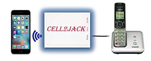 Cell2Jack cellphone to home phone bluetooth adapter - Avoid harmful cellphone signal radiation. Make and receive cell phone call on your landline phone FREE by Cell2Jack