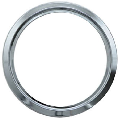 Electric Range Trim Ring - RANGE KLEEN R8-GE Chrome Range Trim Ring/Green Label (8