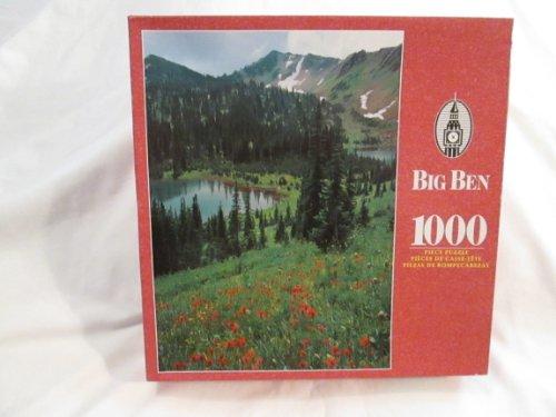 (Big Ben 1000 Piece Puzzle - Flathead National Forest, Montana )