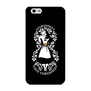 Iphone 6 Plus/6s Plus 5.5 Inch Phone Case Beauty Phone Shell Cover Alice In Wonderland Quotes Cute Style Cover for Iphone 6 Plus/6s Plus 5.5 Inch Disney Cartoon Alice In Wonderland