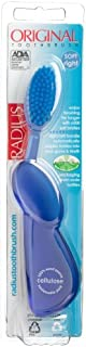 product image for Radius Original Right Hand Toothbrush, Soft Bristles, (Adult), Colors May Vary (Pack of 2)