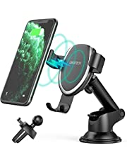 CHOETECH 7.5W Adjustable Wireless Car Charger Mount Compatible with Apple iPhone 11/11 Pro/11 Pro Max/XR/XS/XS Max/X/8/8+,10W Gravity Car Phone Charger Holder for Galaxy Note 10/S10/S9/S9+/S8/S8+ etc.