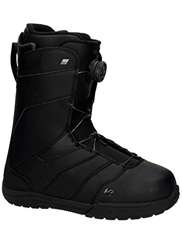 K2 Boa Raider (K2 Raider Men's Snowboard Boot 2019 - Size 9 - Black)