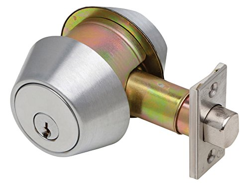 Dexter Commercial Hardware DB2000-DCT-605-KDC Double Cylinder, Grade 2, KDC, Deadbolt, Bright Brass by Dexter Commercial Hardware