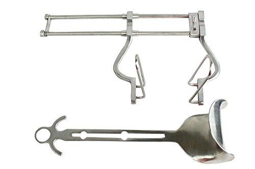 Defender Balfour Abdominal Retractor 10-inch Spread Veterinary Surgical BD Instruments by Defender