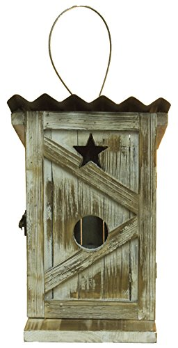 - MIDWEST-CBK Adorable Wood Outhouse Birdhouse