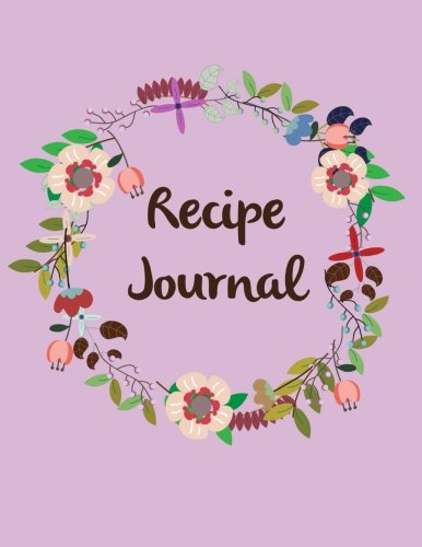 Lavender Cookbook (Recipe Journal: Lavender Floral Recipe Keeper Book for Recipes - Blank Cookbook to Write in Recipes & Notes - Great Gift for Cooking Lovers and Chefs ... x 11'' Recipe Book Organizer) (Volume 7))