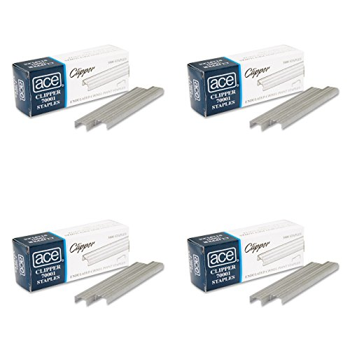 Ace Office Products 70001 Staples, Undulated, For