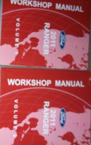 (2011 Ford Ranger Truck Service Shop Repair Workshop Manual Set OEM W Product Bk)