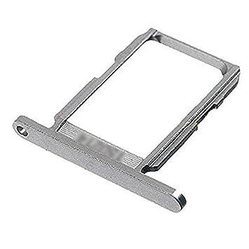 BisLinks® Pieza de recambio Para bandeja de tarjeta SIM plateada Para Samsung Galaxy S6 G920F SM-G920F