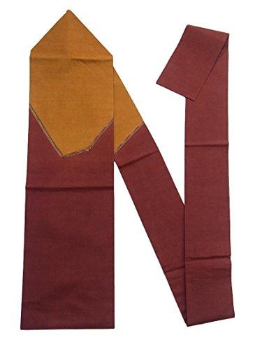 育成バーベキュー仮定、想定。推測リサイクル 名古屋帯 紬 刺繍 組紐文 正絹