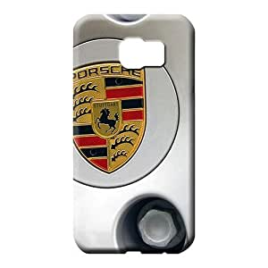 samsung galaxy s6 edge Appearance durable trendy phone carrying cover skin porsche rims