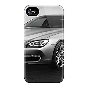 High Grade GAwilliam Flexible Tpu Case For Iphone 4/4s - Bmw 6 Series Coupe Concept