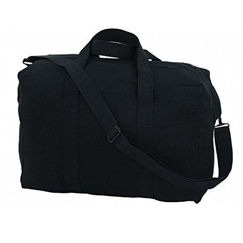 Texsport Small Parachute Cargo Bag, Black