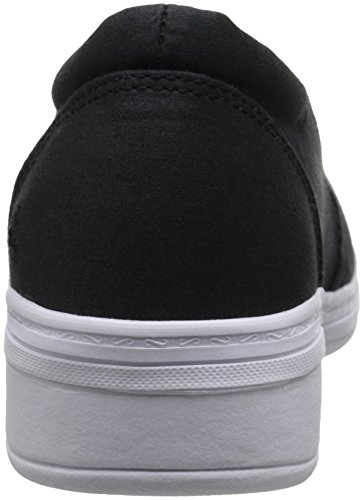 Fashion Women Twill Sneaker Grasshoppers Black Jade qzO41g