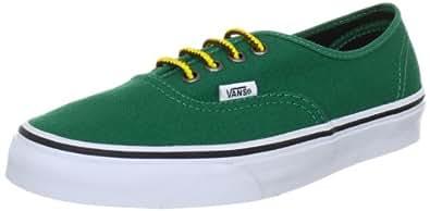 Vans Authentic, Zapatillas de lona para Hombre, Verde, 42.5