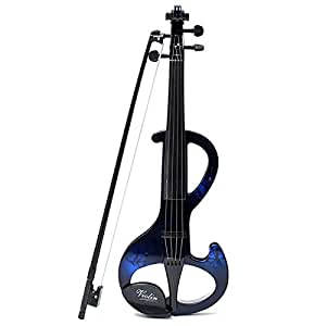 how to set up an electric violin