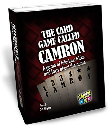 Card Game Called Camron, Personalized Game for People Named Camron