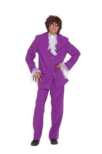Purple Men's Groovy Man Suit - Austin Powers Suit
