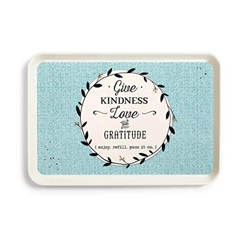Redrock Traditions Give Kindness Love and Gratitude 9.5 x 14 Melamine Pass It On Serving -
