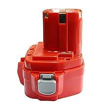 Topbatt 12V Replacement Rechargable Battery 2.0Ah NI-Cd For Makita Cordless Tools 1200 1220 1201 PA12 1222 1233S 1233SA by Topbatt