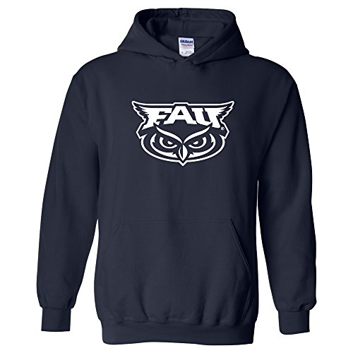 AH02 - FAU Owls Primary Logo Hoodie - Small - Navy ()