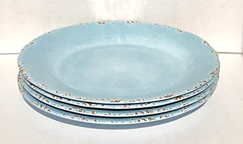 Tommy Bahama 100% Melamine 4-Dinner Plates (11