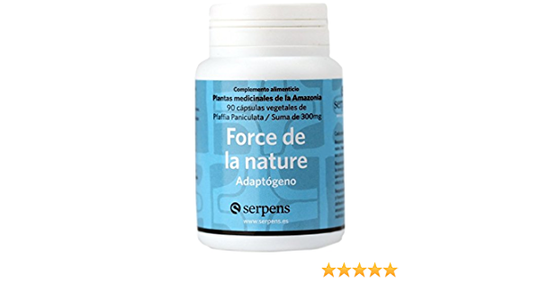 Force De La Nature 90 Cápsulas De Serpens Aborigen Amazon Es Salud Y Cuidado Personal