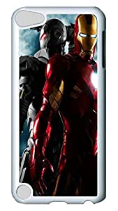 VUTTOO Iron Man And War Machine Lovely Case for iPod 5, Premium Anti-Scratch Clear Slim Back Panel with Shock Absorbent Bumper Protection [Heavy Drop Protection] Case For Apple iPod Touch 5Gen Generation