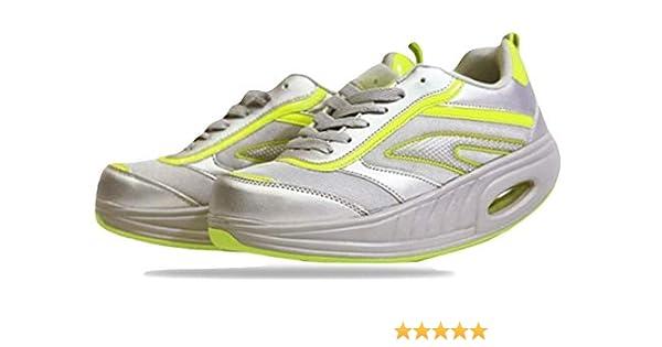 Fitness Step Grey/Yellow (37): Amazon.es: Zapatos y complementos