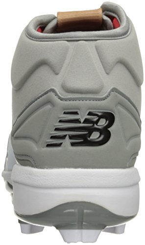 Molded White Men's Baseball Grey New Balance PM3000v3 Shoe Cx0qw55gtH