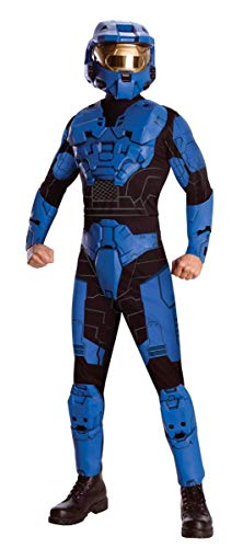 Halo Deluxe Costume, Blue, X-Large -