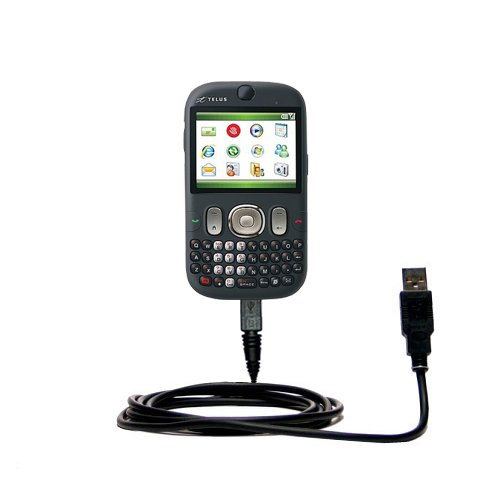 (Hot Sync and Charge Straight USB cable for the HTC CDMA PDA Phone - Charge and Data Sync with the same cable. Built with Gomadic TipExchange Technology)