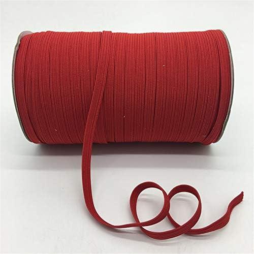 LGCD 5Yards /ロット7ミリメートル弾性リボン多目的肥厚サテン弾性スパンデックスバンドトリム縫製リボン衣料アクセサリー