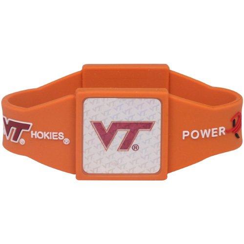 Virginia Tech Hokies Orange Power Force Silicone Wristband by Football Fanatics