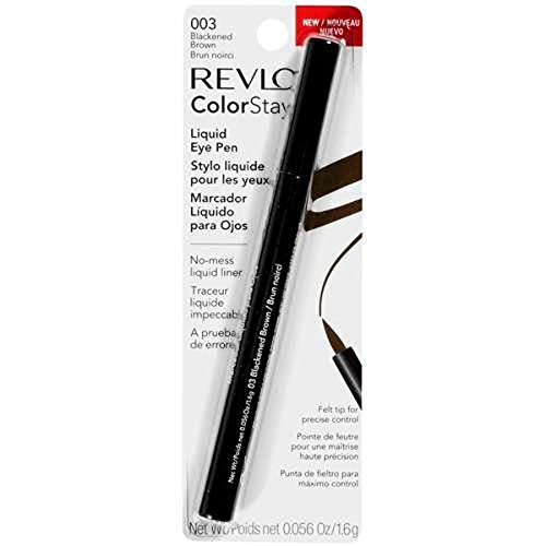 (Revlon ColorStay Liquid Eye Pen, Blackened Brown 003)