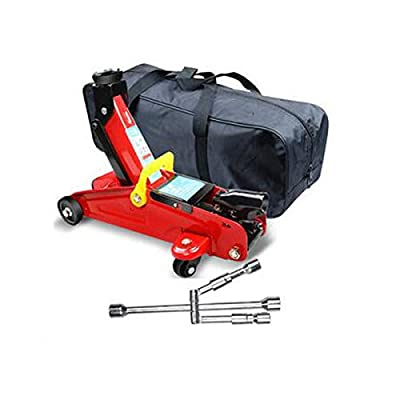 Huijunwenti Jack, Vertical Hydraulic Jack, Car, Load 2 Tons, Suitable for Car SUV Commercial Vehicles, Emergency Rescue Car Repair Tools