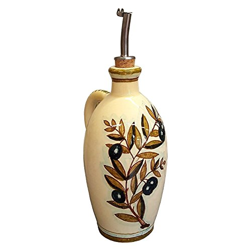 Decorated Olive Oil Bottle - 2