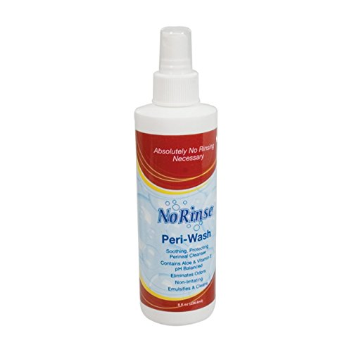 No Rinse Peri-Wash- Personal Care Cleanser (Spray Wash Perineal Bottle)