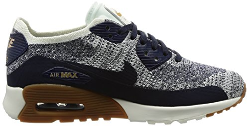 MAX Navy 400 College Nike 90 ULTRA AIR 0 Running FLYKNIT Trainers 2 Womens q6ZwC6ET
