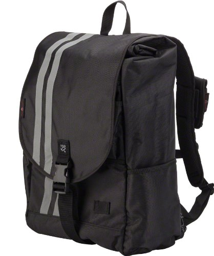 Banjo Brothers Commuter Backpack: LG, Black