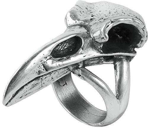 bird skull ring - 3