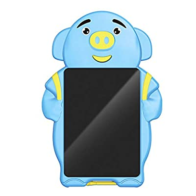 Afazfa 8.5inch Electronic LCD Writing Tablet Pad Office Memo Home Message Kids Drawing (Blue): Clothing