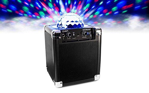 812715015046 - ION Audio House Party (iPA18L)   Portable Sound System with Built-In Light Show (Black / 8W) carousel main 1