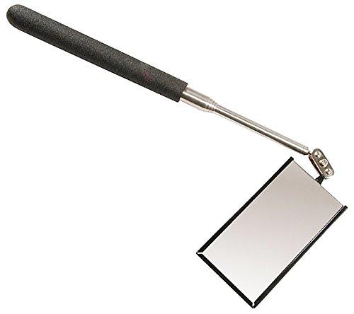 TELESCOPIC ROTATING MIRROR CAR WORKSHOP INSPECTION GARAGE MIRROR MUTLI ANGLE (S37) bargainworlduk