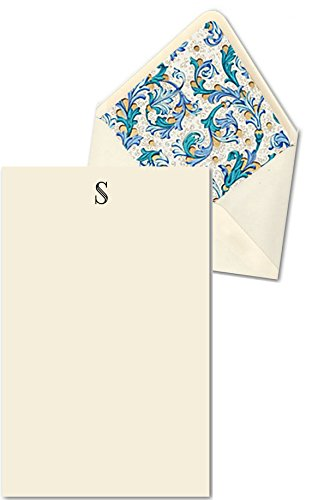 K DESIGNS – HAND MADE STATIONERY CORRESPONDENCE SHEETS  DESIGNER ENVELOPES (Lined By Hand With Elegant Hand Made Specialty Paper) – Single Letter Mon…
