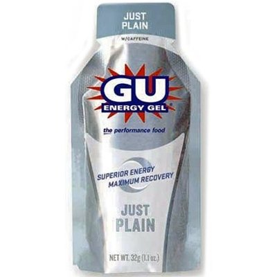 GU Energy Original Sports Nutrition Energy Gel, Just Plain, ()