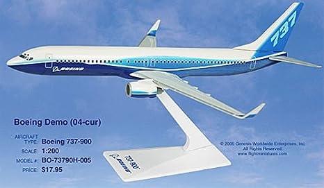Boeing House Color Boeing 737-900ER 1:200 B737 Winglets NEU Flight Miniatures