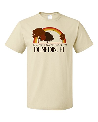Living the Dream in Dunedin, FL | Retro Unisex T-shirt